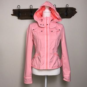 Lululemon Jacket Out and About Bleached Coral